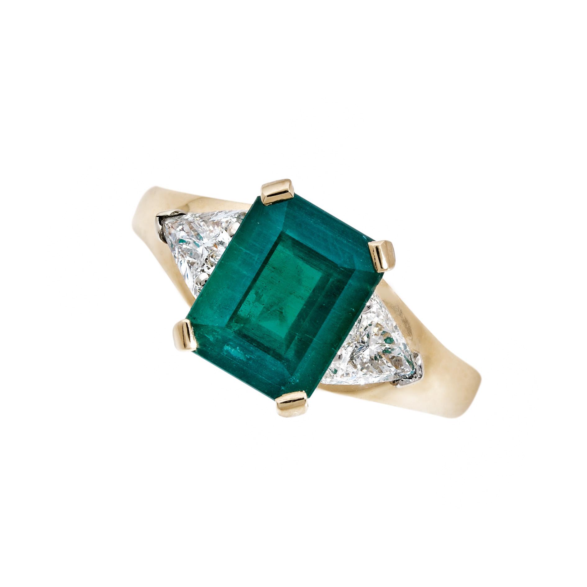 Bague Émeraude et Diamants - Pascal IZERN