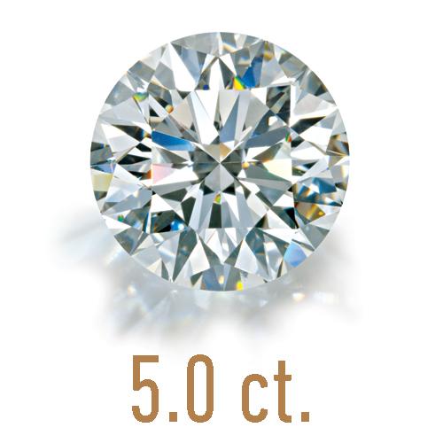 5 carats