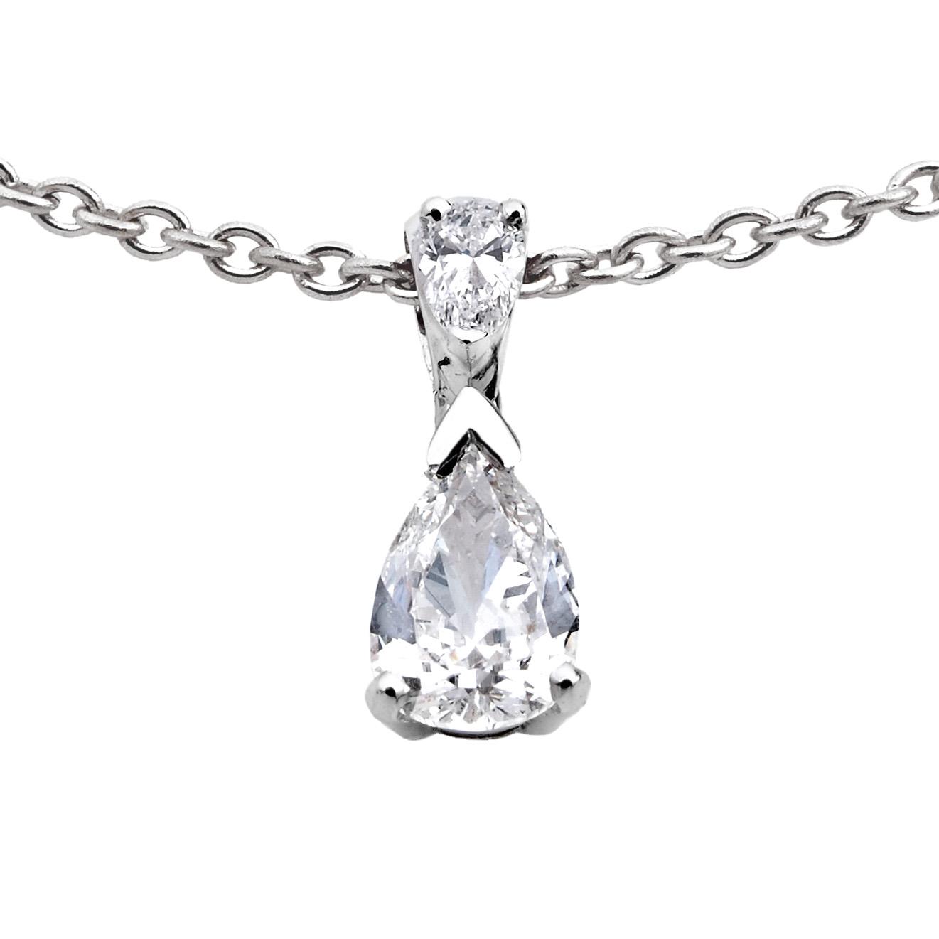 Pendentif Double Diamants sur bélière - Pascal IZERN